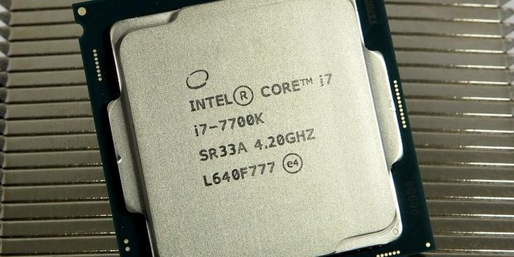 Процессоры Intel Core i7-7740K и Core i5-7640K не будут напрямую конкурировать с CPU AMD Ryzen