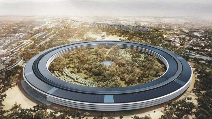 При постройке нового кампуса Apple уделяет уйму внимания каждой мелочи
