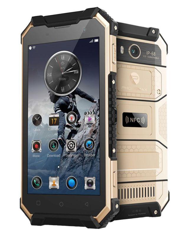 Phonemax выпустит в Европе два защищенных смартфона S5 и S5C