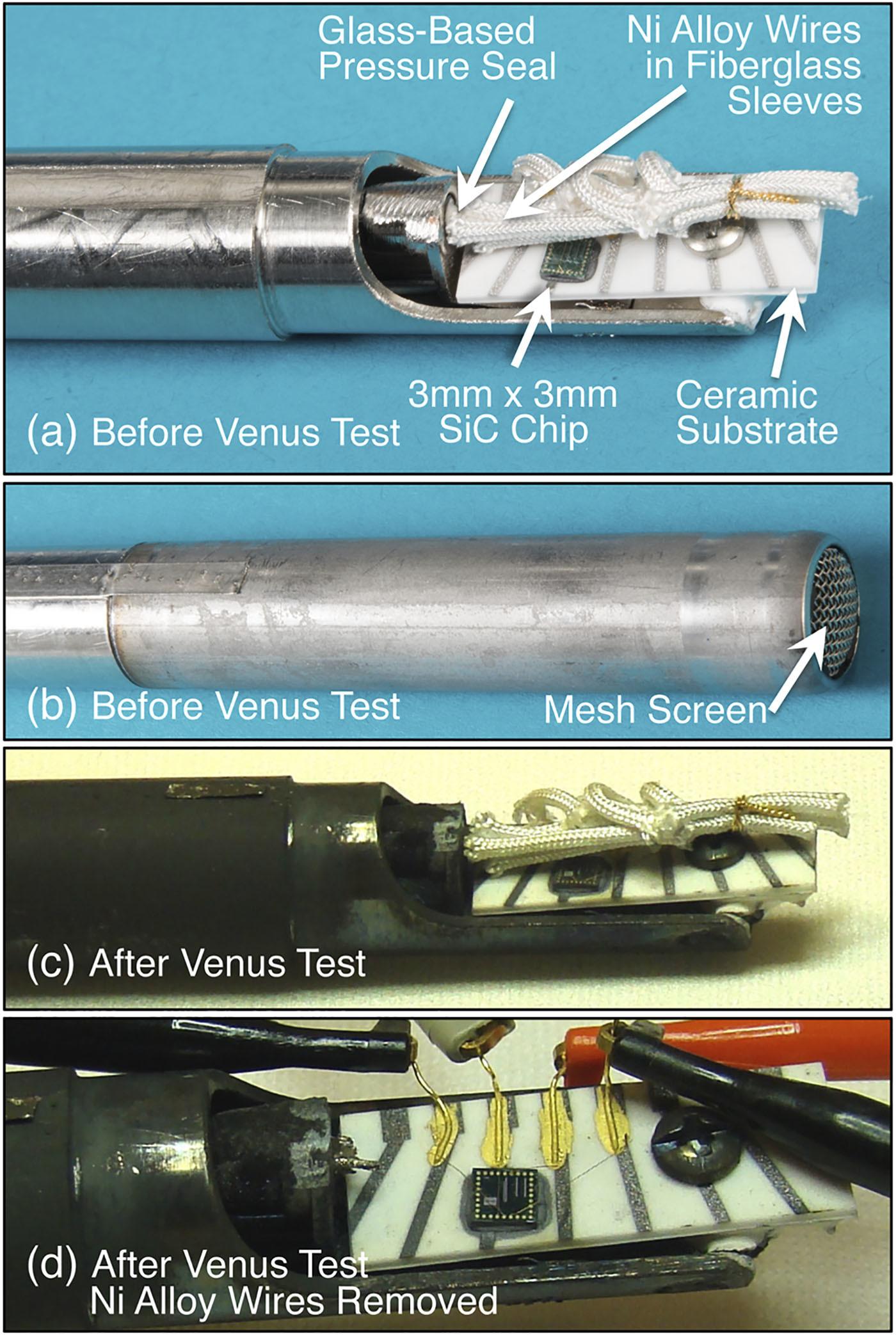 Электроника из карбида кремния может работать на Венере без защиты и охлаждения - 4