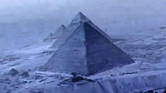 На Аляске также есть древние пирамиды, скрытые под снегами