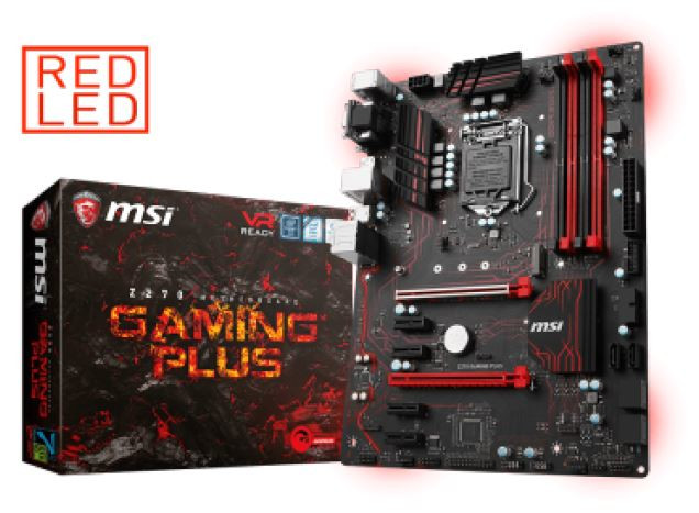 Игровой плату MSI Z270 Gaming Plus назовут только пользователи с одной видеокартой