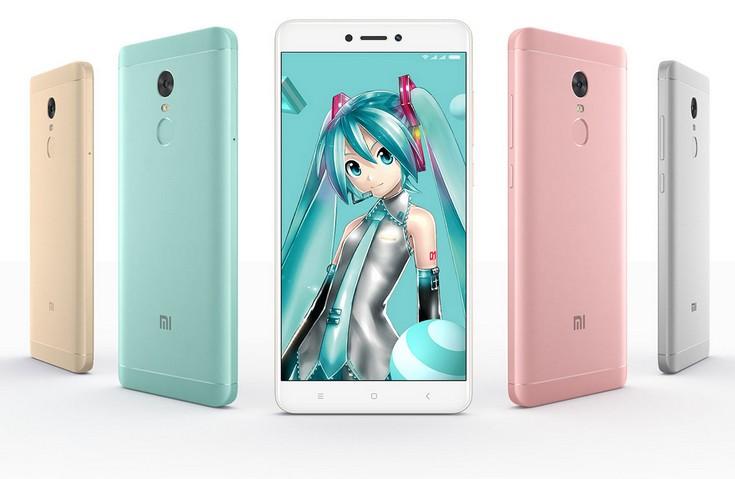 Смартфон Xiaomi Redmi Note 4X будет доступен в мятном цвете