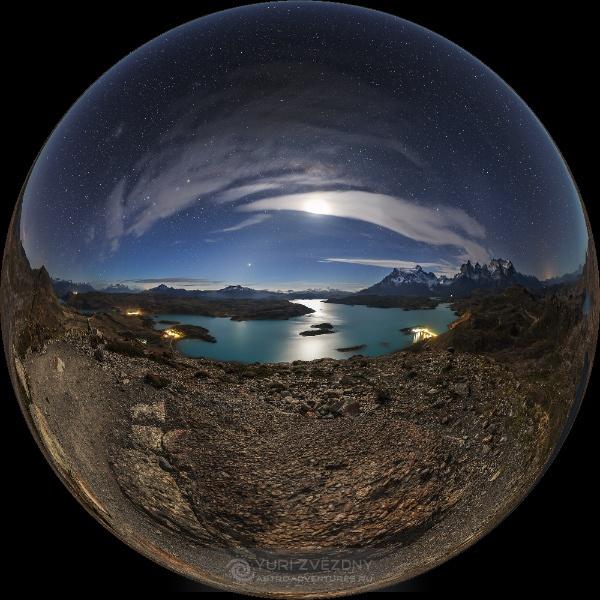 Астрономические пейзажи в 360° - 2
