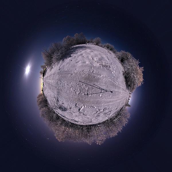 Астрономические пейзажи в 360° - 8