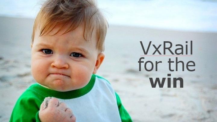 Гиперконвергентные устройства VxRail - 1