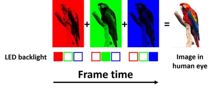 Секрет новых дисплеев — в отсутствии субпикселей и цветных фильтров