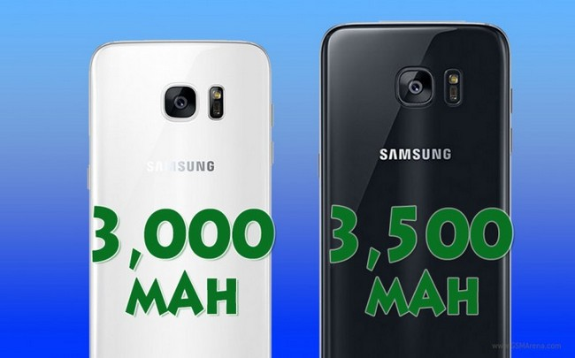 Смартфонам Samsung Galaxy S8 и S8 Plus приписывают аккумуляторы емкостью 3000 и 3500 мА•ч соответственно