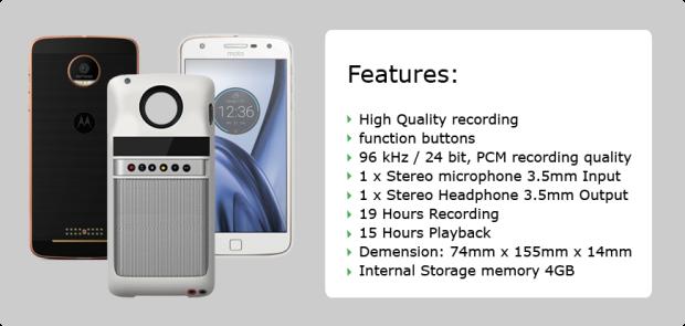В список победителей конкурса модулей для Moto Z вошли очень оригинальные устройства