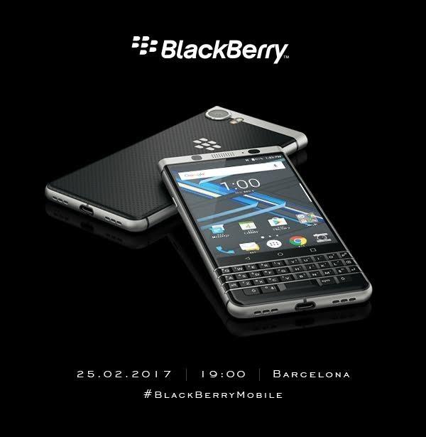 Смартфон BlackBerry Mercury анонcируют еще до начала MWC 2017