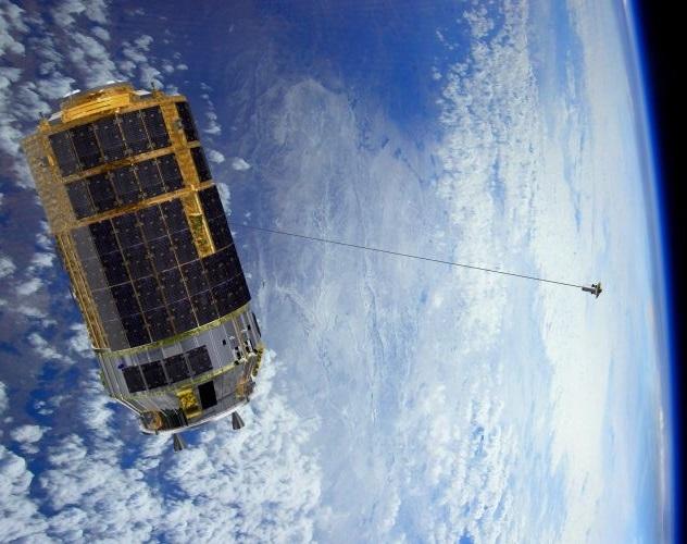Спутник на веревочке или космические тросовые системы - 2