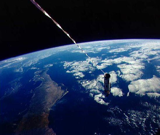 Спутник на веревочке или космические тросовые системы - 6