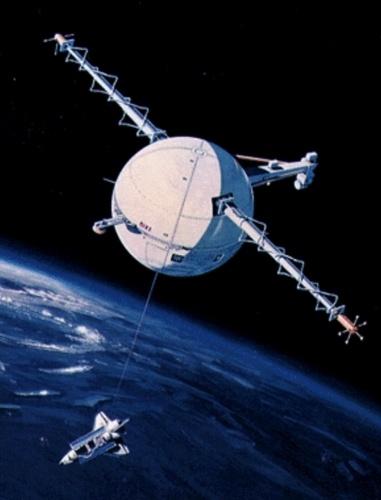 Спутник на веревочке или космические тросовые системы - 8