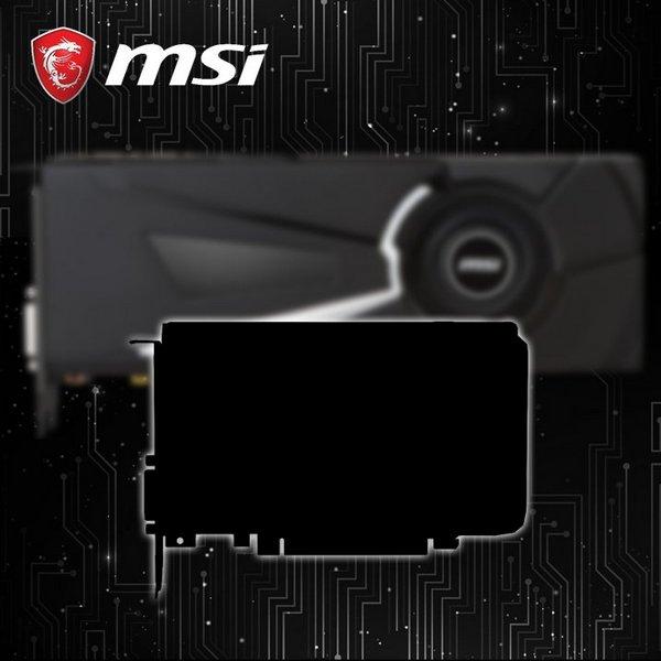 MSI может выпустить короткую видеокарту GTX 1070 или GTX 1080