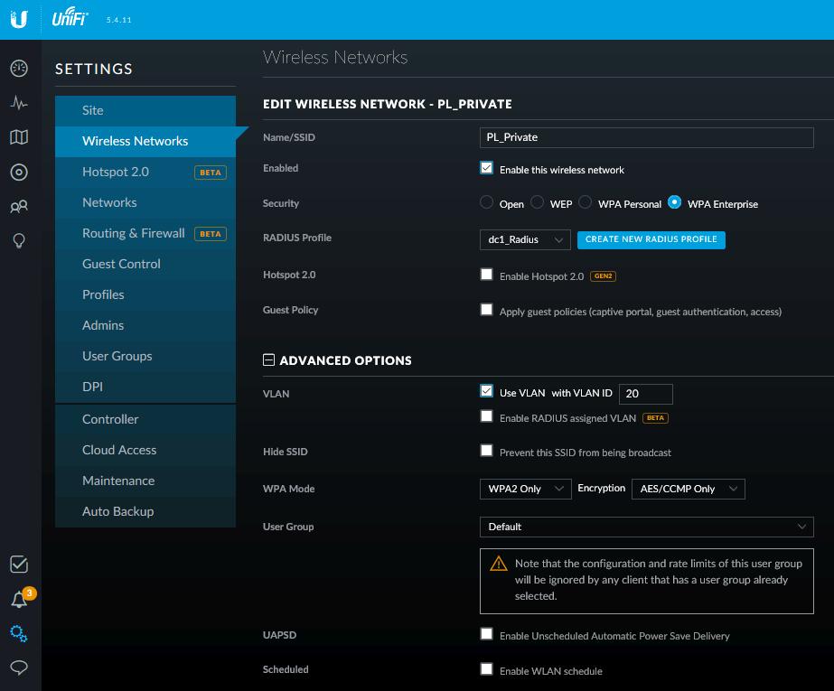 Корпоративный wifi на UBNT с порталом и доменной аутентификацией - 4