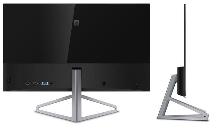 Монитор Philips Moda 245C7QJSB выделяется дизайном и подставкой