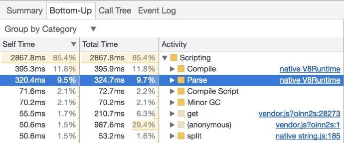 Производительность старта JavaScript - 11