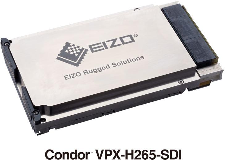 Видеокодер Condor VPX-H265-SDI подходит для установки на пилотируемых и беспилотных летательных аппаратах