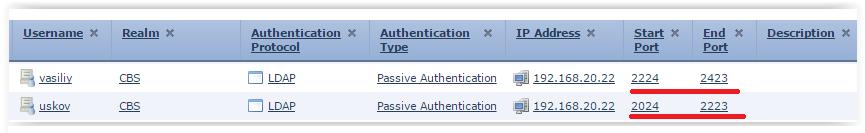 Аутентификация пользователей терминальных серверов на FirePOWER - 10