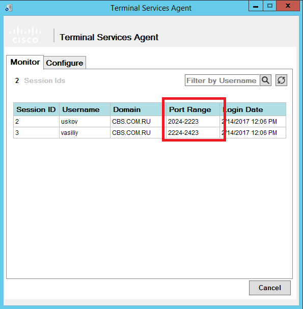 Аутентификация пользователей терминальных серверов на FirePOWER - 9