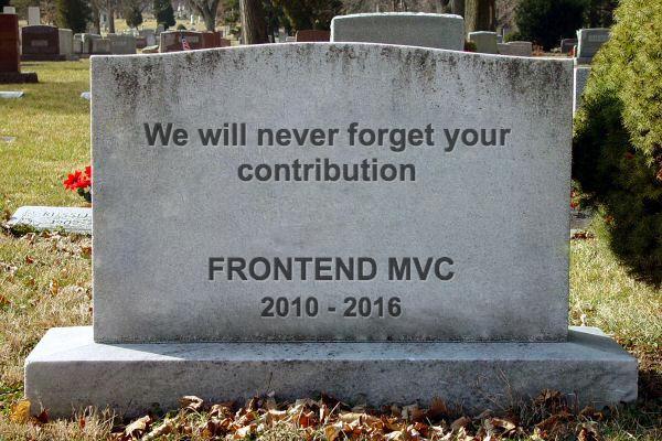 Умер ли MVC для фронтенда? - 1
