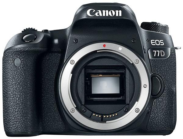 Canon представила зеркальные камеры EOS 800D (Rebel T7i) и EOS 77D - 1