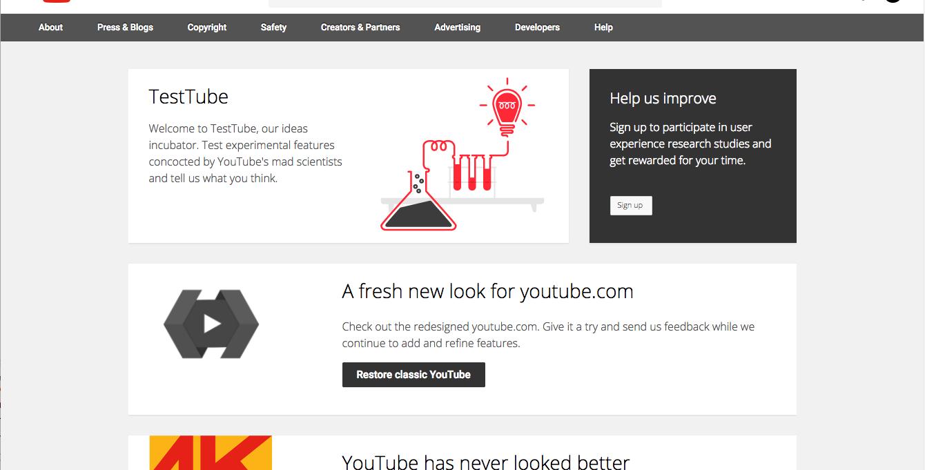 Youtube снова экспериментирует с дизайном - 9
