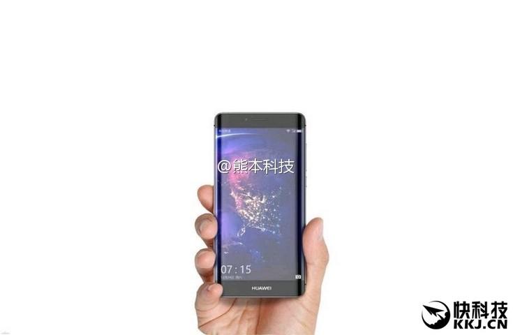 Huawei P10 Plus получит сильный изгиб дисплея