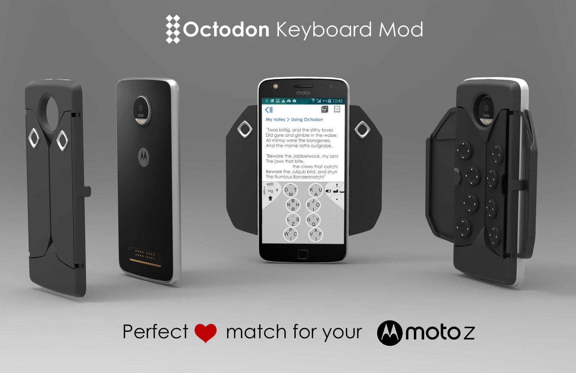 Октодон пробует силы в МотоМодоСтроении - 1