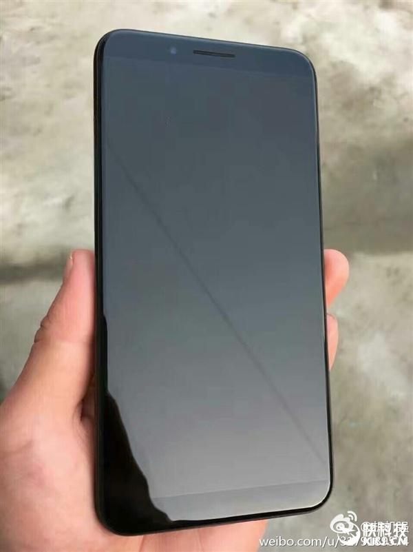 Опубликована фотография смартфона Xiaomi, который лишен кнопки Home