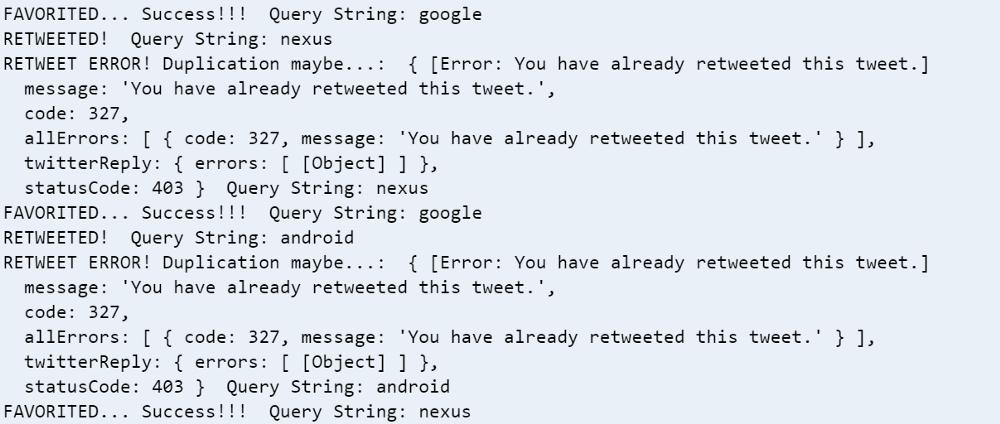 Почему вам может пригодиться собственный Twitter-бот и как создать его за полчаса - 10