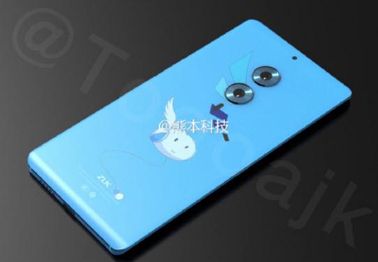 Преемник смартфона Zuk Edge получит изогнутый дисплей и сдвоенную камеру