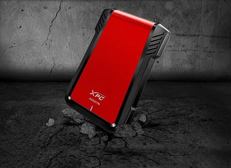 Карман Adata EX500 External Enclosure защитит накопитель от падений