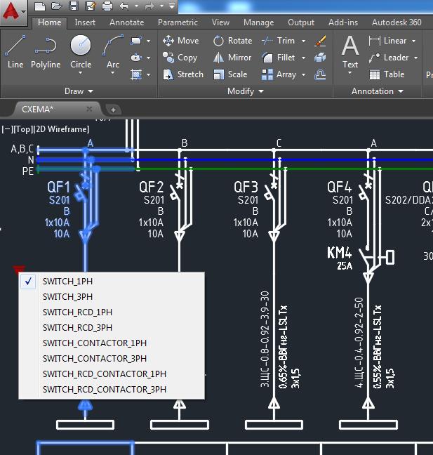 Электрические схемы в Autocad с помощью .NET - 11
