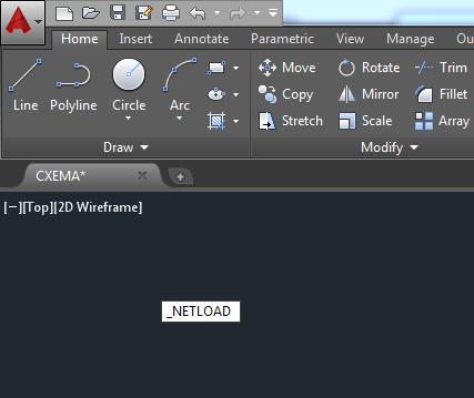 Электрические схемы в Autocad с помощью .NET - 1