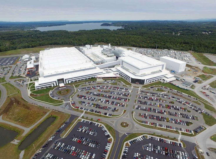 Фабрика Globalfoundries в штате Нью-Йорк