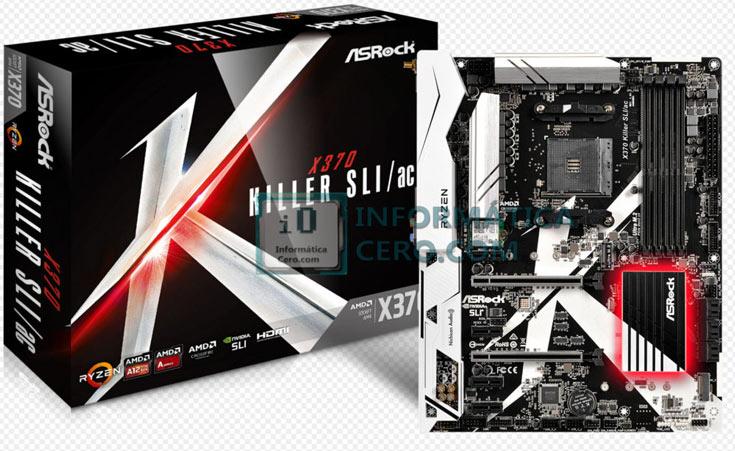 Модель ASRock X370 Killer SLI/ac интересна тем, что ее основой служит набор системной логики AMD X370