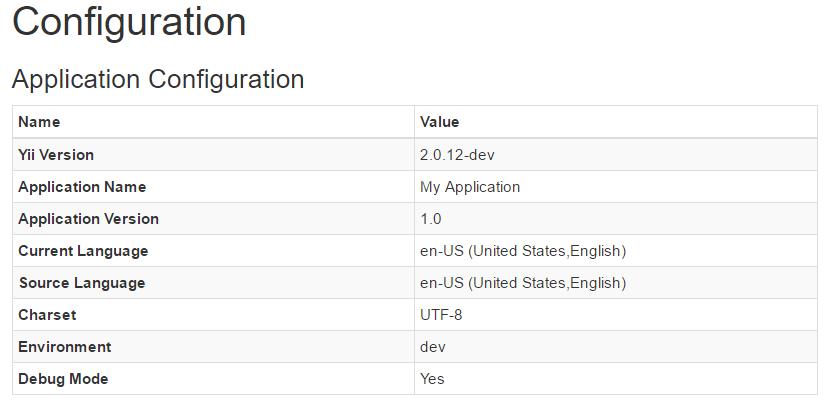Yii 2.0: релиз расширения Debug 2.0.8 - 2