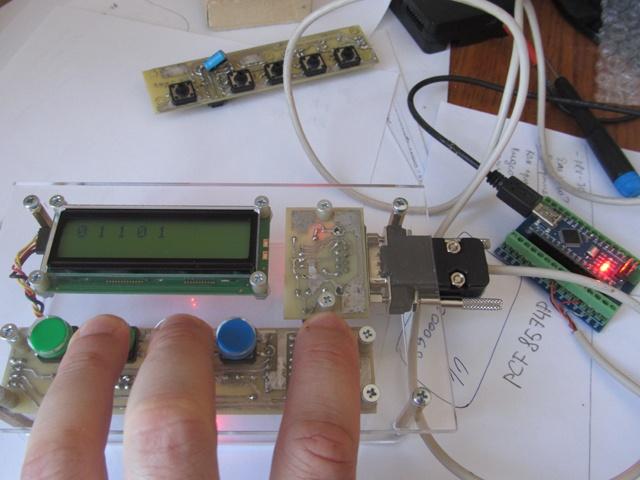 Панель оператора (HMI) с шиной I2C для Arduino - 14