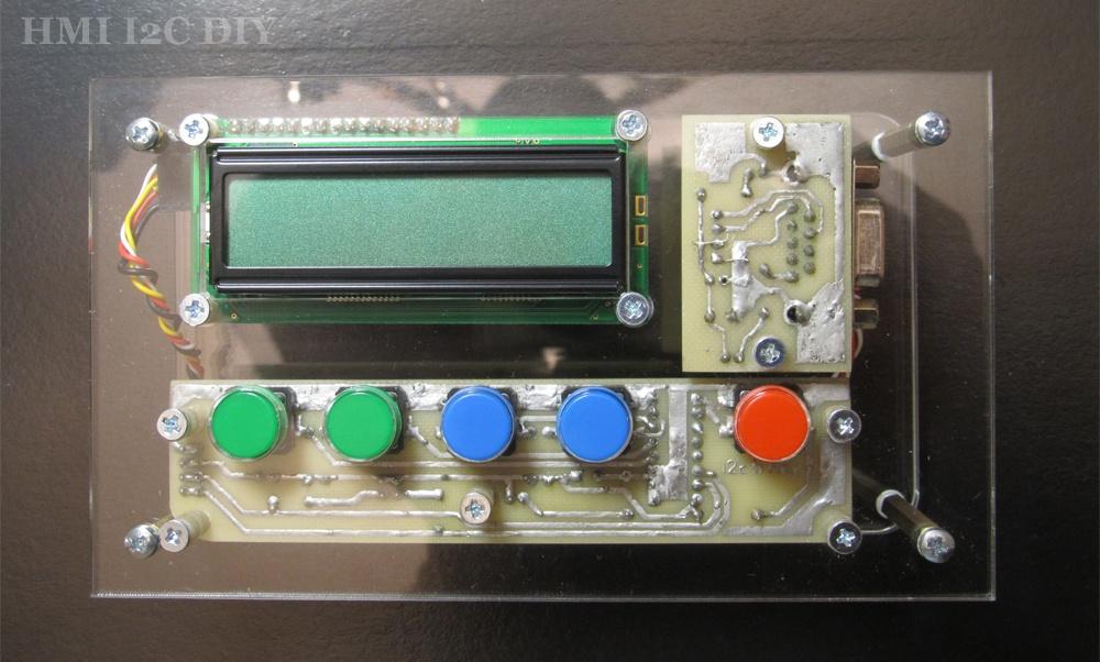 Панель оператора (HMI) с шиной I2C для Arduino - 3