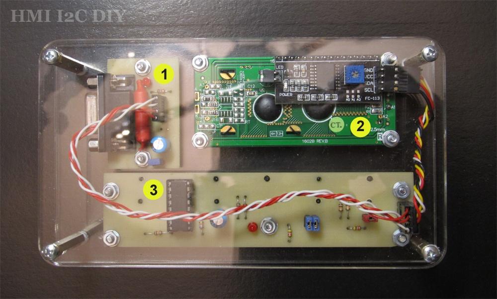 Панель оператора (HMI) с шиной I2C для Arduino - 4
