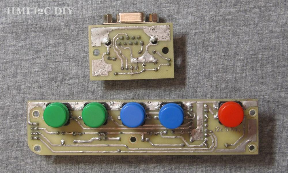 Панель оператора (HMI) с шиной I2C для Arduino - 5