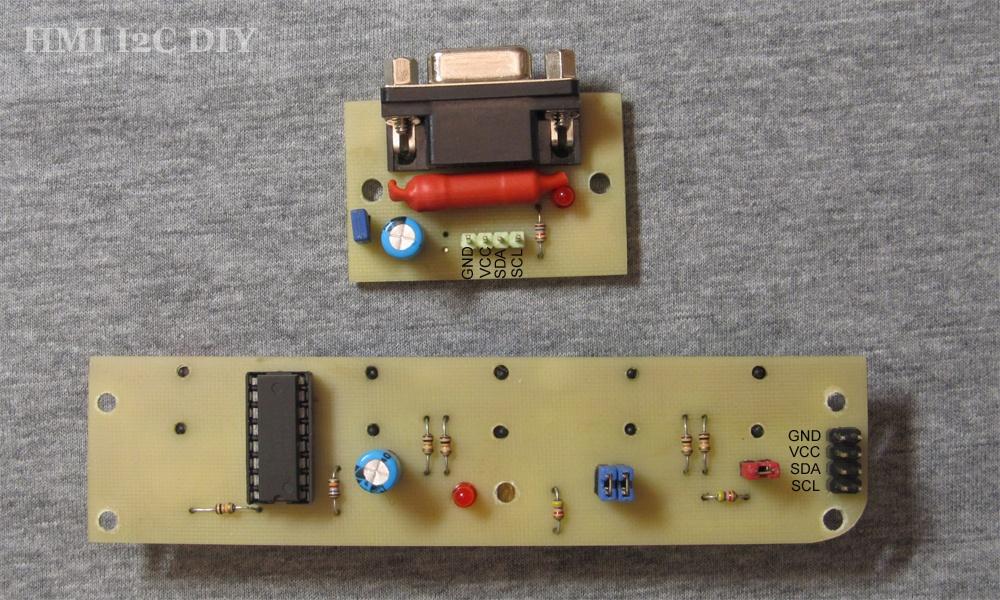 Панель оператора (HMI) с шиной I2C для Arduino - 6