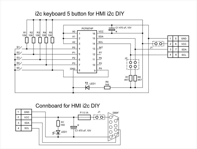 Панель оператора (HMI) с шиной I2C для Arduino - 7