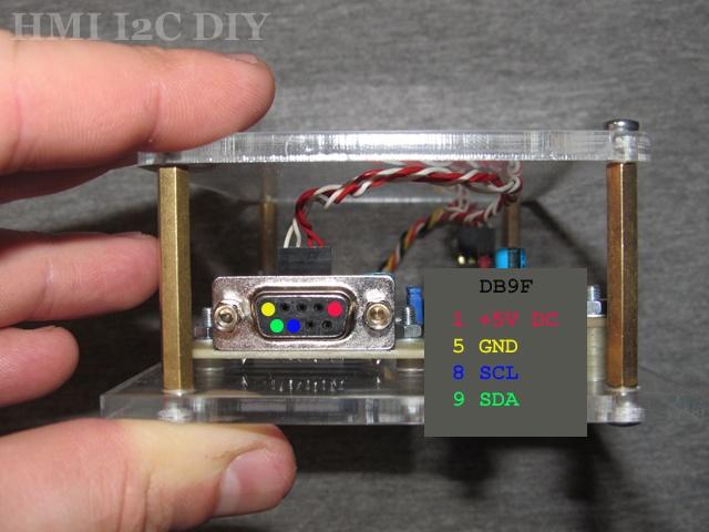 Панель оператора (HMI) с шиной I2C для Arduino - 8