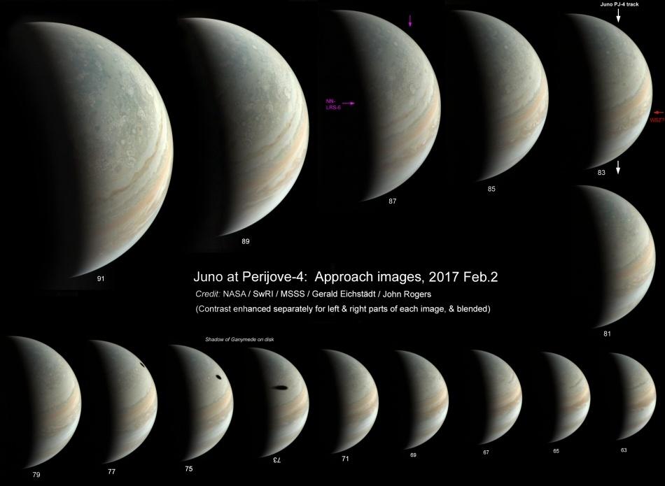 «Юнона» останется на промежуточной орбите Юпитера - 8
