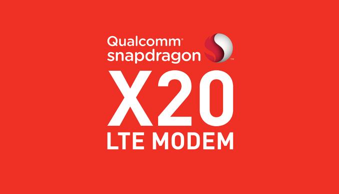 Qualcomm представила модем Snapdragon X20 LTE