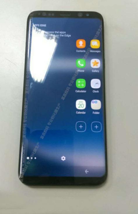 Смартфон Samsung Galaxy S8 лишен кнопки Home