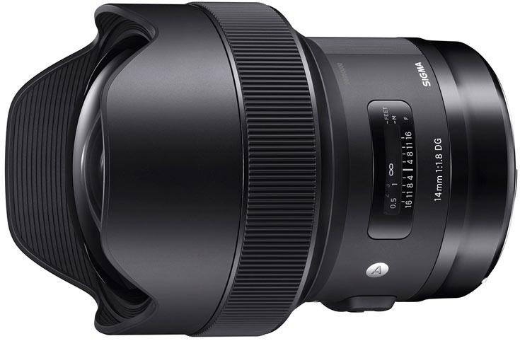 Объектив Sigma 14mm F1.8 DG HSM Art будет выпускаться в вариантах для камер Canon, Nikon и Sigma