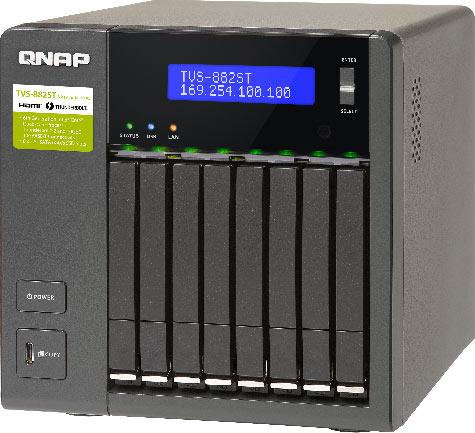 Продажи QNAP TVS-882ST2 уже начались